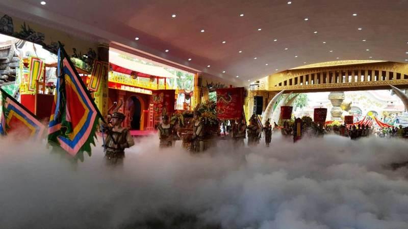 54 dân tộc anh em dâng lễ vật ngày Quốc giỗ - ảnh 1