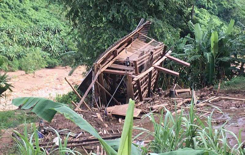 Hàng chục hộ bị lũ cuốn trong tích tắc dưới đỉnh 'Sài Khao' - ảnh 14