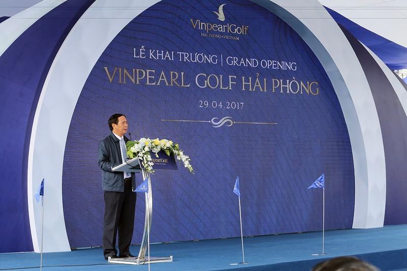 Hải Phòng: Khánh thành sân golf trên đảo lớn nhất  - ảnh 1