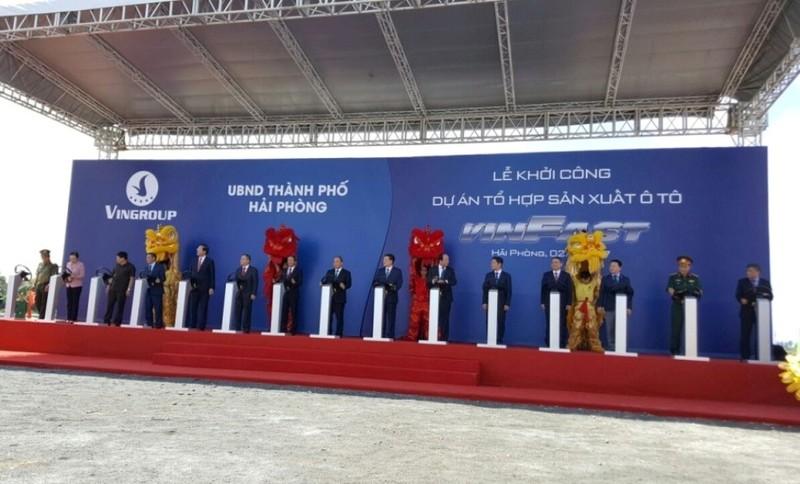 Khởi công nhà máy sản xuất ô tô lớn nhất Việt Nam - ảnh 1