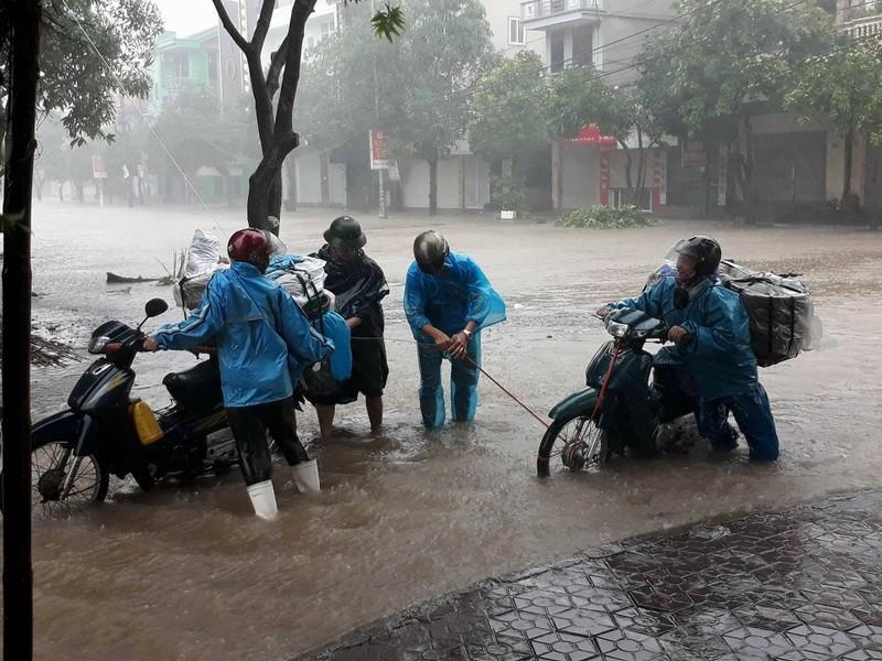 Thị xã Cửa Lò tan hoang sau bão số 10 - ảnh 7