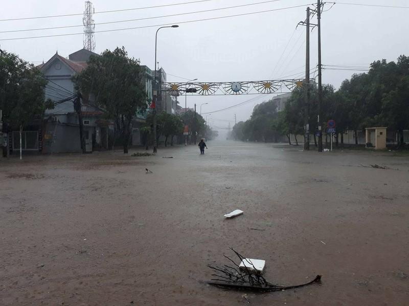 Thị xã Cửa Lò tan hoang sau bão số 10 - ảnh 6