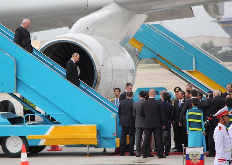 Chuyên cơ chở Tổng thống Putin đã đáp xuống Đà Nẵng - ảnh 3