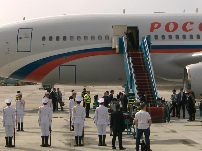 Chuyên cơ chở Tổng thống Putin đã đáp xuống Đà Nẵng - ảnh 1