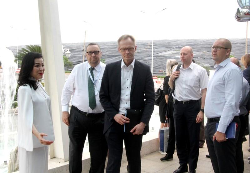 Thứ trưởng Kinh tế và Lao động Phần Lan thăm Đa Phước - ảnh 1