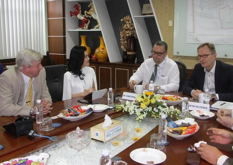 Thứ trưởng Kinh tế và Lao động Phần Lan thăm Đa Phước - ảnh 2