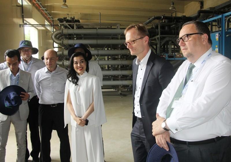 Thứ trưởng Kinh tế và Lao động Phần Lan thăm Đa Phước - ảnh 4