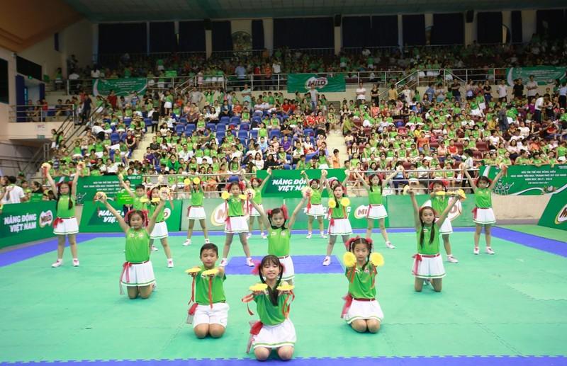 Hội thi thể dục đồng diễn tiểu học - Cúp Nestlé MILO - ảnh 1
