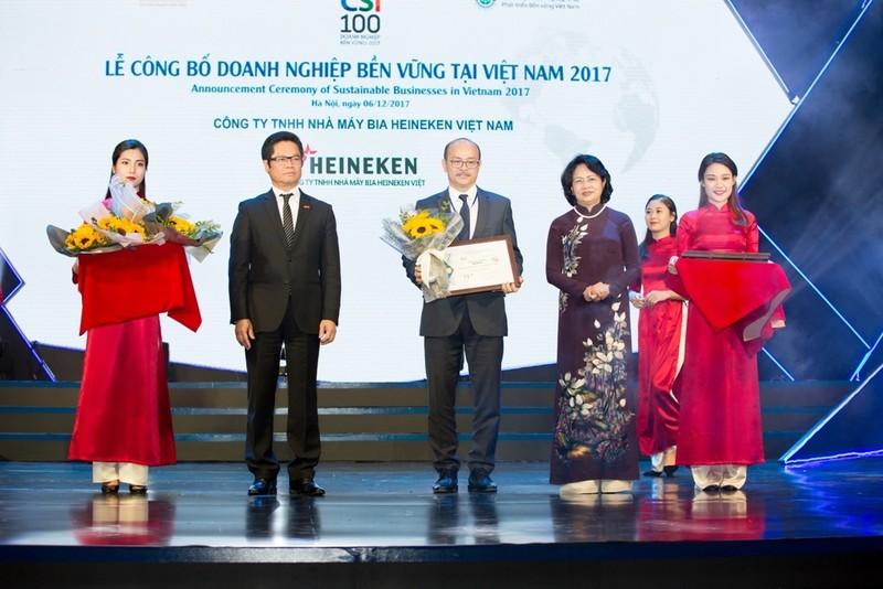 HEINEKEN Việt Nam: DN sản xuất bền vững nhất  - ảnh 1