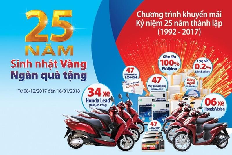 Ngân hàng Bản Việt tri ân khách hàng với ngàn quà tặng - ảnh 1