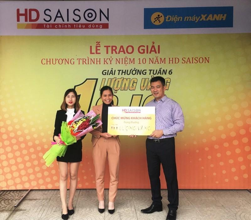 HD SAISON: Còn một tuần để trúng 10 lượng vàng - ảnh 1