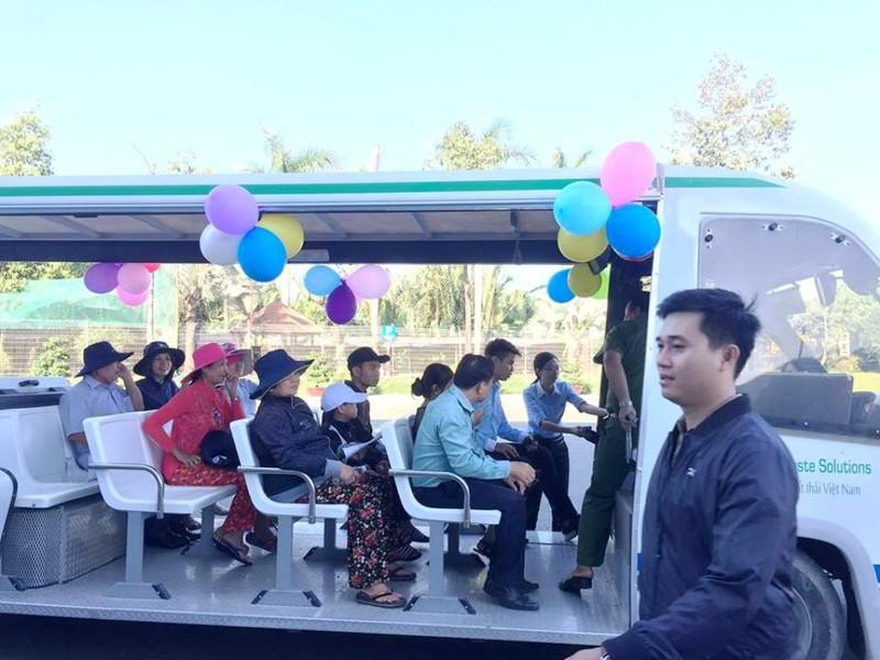 VWS mở cửa mời người dân tham quan bãi rác Đa Phước - ảnh 4