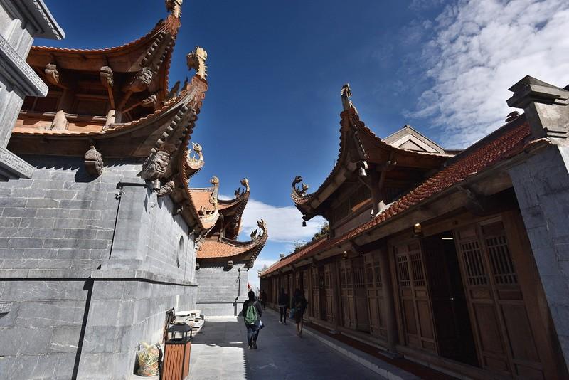 Dấu ấn kiến trúc thời Trần: Kiệt tác tâm linh Fansipan  - ảnh 10