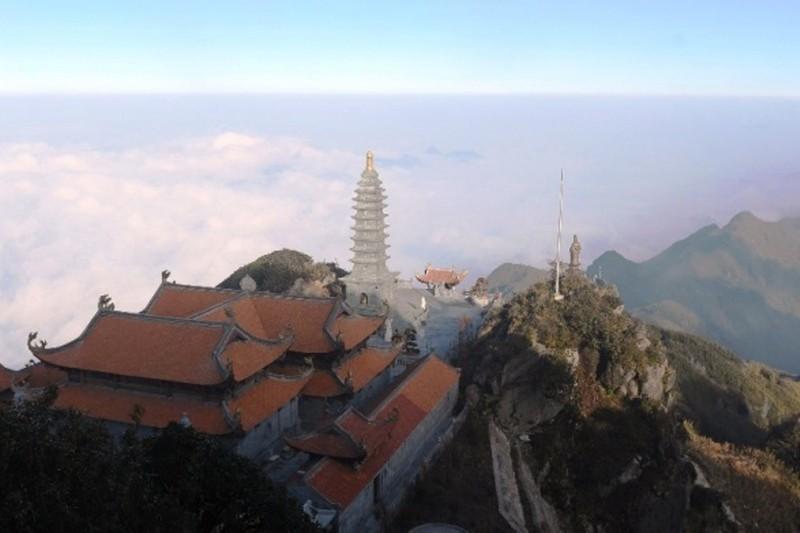 Dấu ấn kiến trúc thời Trần: Kiệt tác tâm linh Fansipan  - ảnh 1