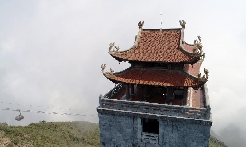Dấu ấn kiến trúc thời Trần: Kiệt tác tâm linh Fansipan  - ảnh 4