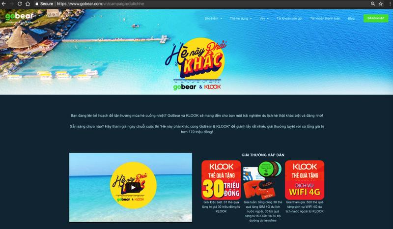 Trải nghiệm du lịch hè mới lạ cùng GoBear và KLOOK - ảnh 1