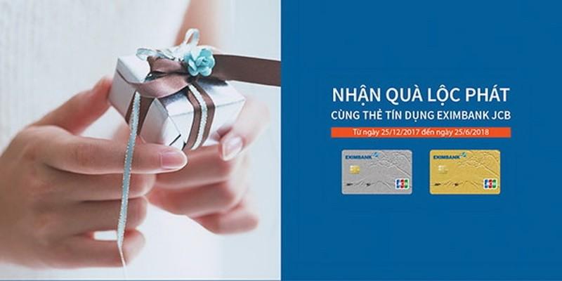 Nhận quà lộc phát cùng thẻ tín dụng EximBank JCB - ảnh 1