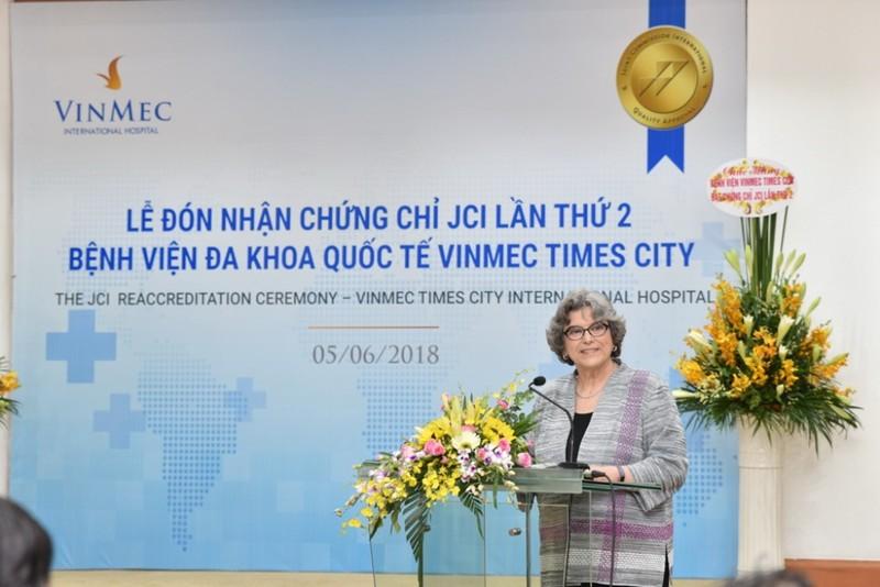 Vinmec Times City nhận chứng chỉ JCI lần thứ 2 - ảnh 4