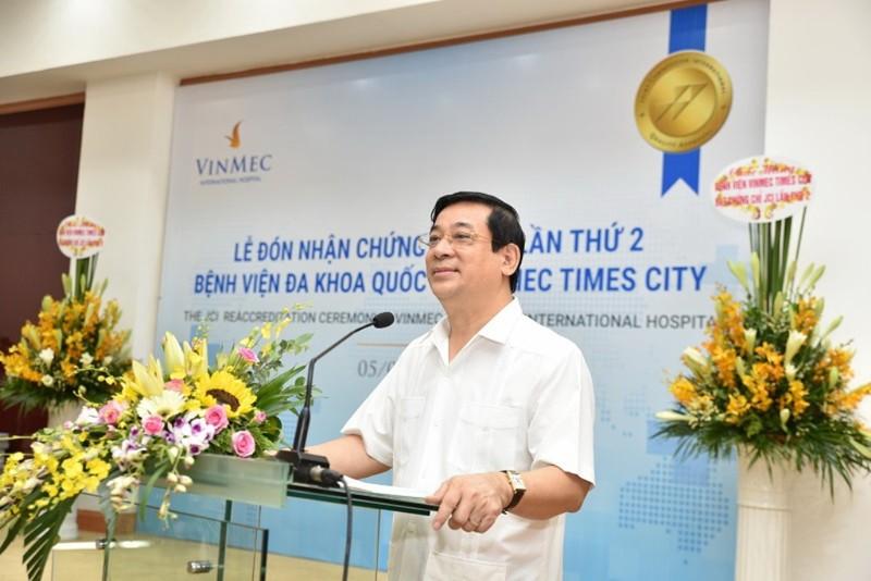 Vinmec Times City nhận chứng chỉ JCI lần thứ 2 - ảnh 5
