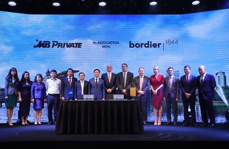 MB ký kết thỏa thuận hợp tác với Bordier & Cie Singapore - ảnh 2