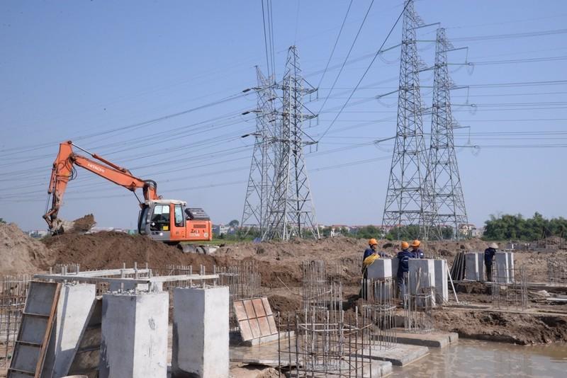Đẩy nhanh tiến độ dự án trạm biến áp Quang Châu, Bắc Giang - ảnh 1