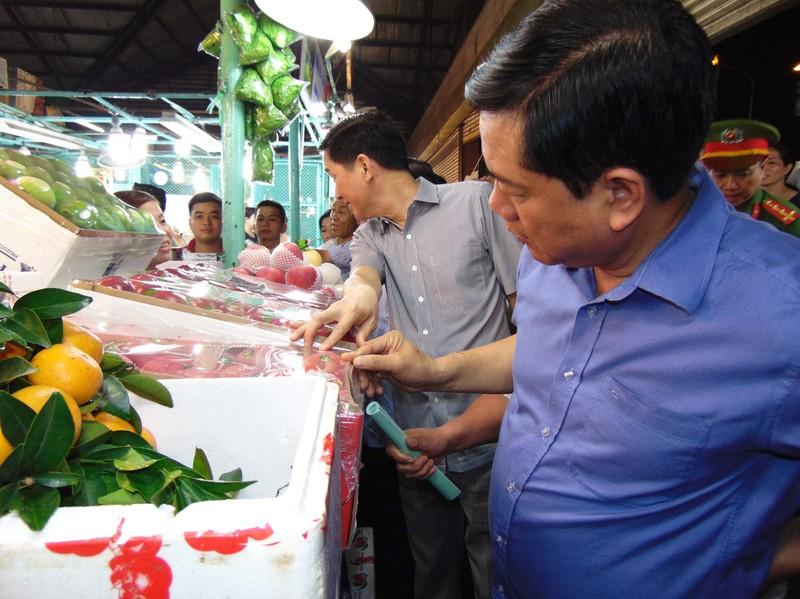 Bí thư Thành ủy TP.HCM lo bữa cơm an toàn cho dân - ảnh 1