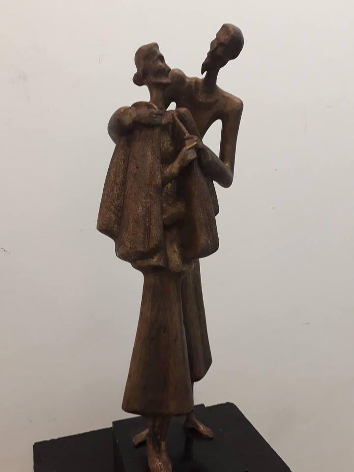 Điêu khắc trẻ trung, thời sự của ĐH Mỹ thuật TP  - ảnh 1