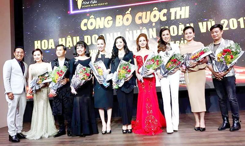 Công bố cuộc thi 'Hoa hậu Doanh nhân Hoàn vũ 2017' - ảnh 1