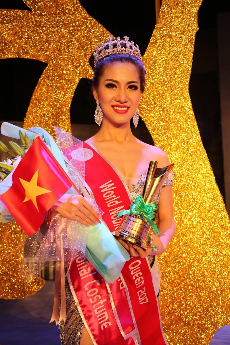 Tiếp viên VN Airlines giành 4 giải ở Hoa hậu Quý tộc  - ảnh 10