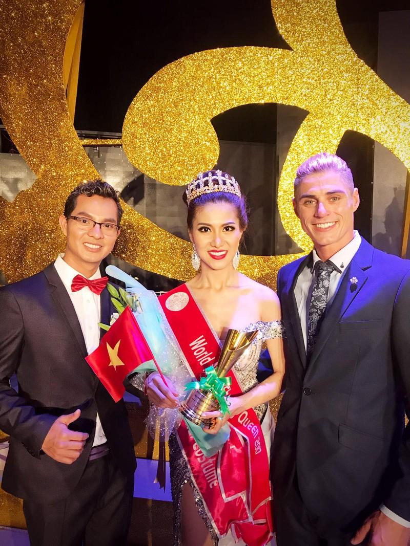 Tiếp viên VN Airlines giành 4 giải ở Hoa hậu Quý tộc  - ảnh 8