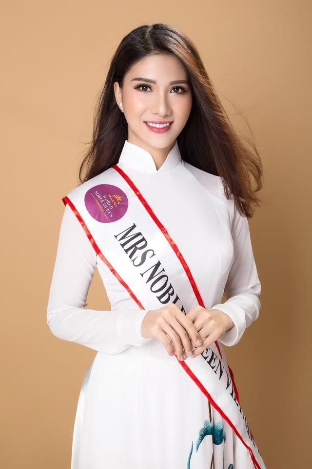 Tiếp viên VN Airlines giành 4 giải ở Hoa hậu Quý tộc  - ảnh 5