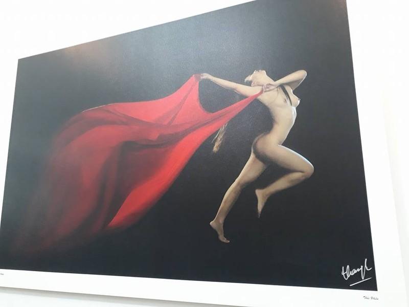 Cận cảnh triển lãm ảnh khỏa thân của nghệ sĩ Thái Phiên - ảnh 7