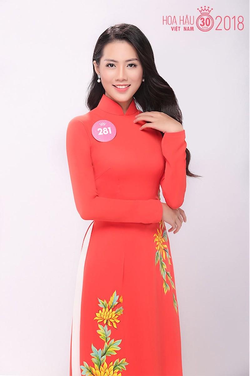 Cận cảnh 30 thí sinh Hoa hậu VN 2018 vào chung khảo  - ảnh 14
