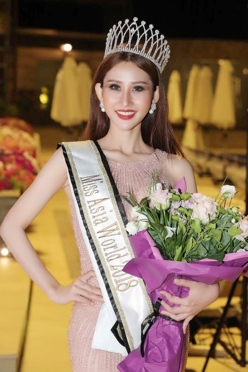 Chi Nguyễn đăng quang Hoa hậu châu Á thế giới  - ảnh 3