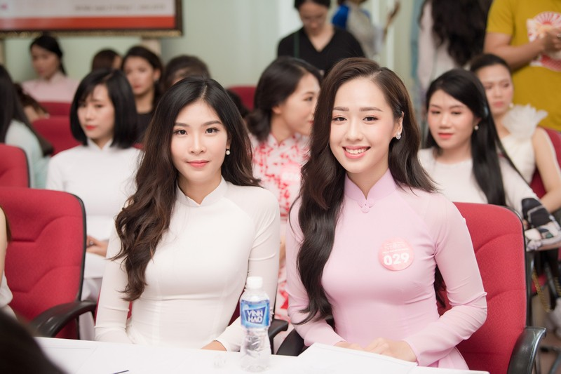 Ngắm dàn người đẹp nổi bật cuộc thi Hoa hậu VN 2018 phía Bắc - ảnh 10
