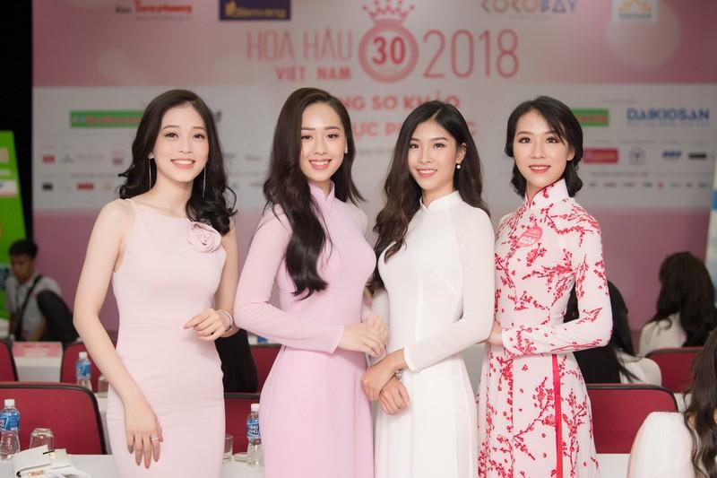 Ngắm dàn người đẹp nổi bật cuộc thi Hoa hậu VN 2018 phía Bắc - ảnh 11