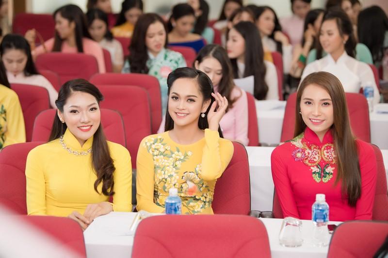 Ngắm dàn người đẹp nổi bật cuộc thi Hoa hậu VN 2018 phía Bắc - ảnh 12