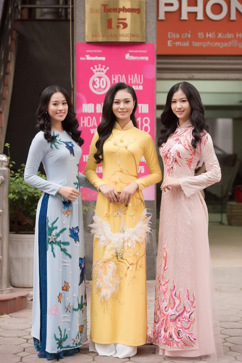 Ngắm dàn người đẹp nổi bật cuộc thi Hoa hậu VN 2018 phía Bắc - ảnh 16