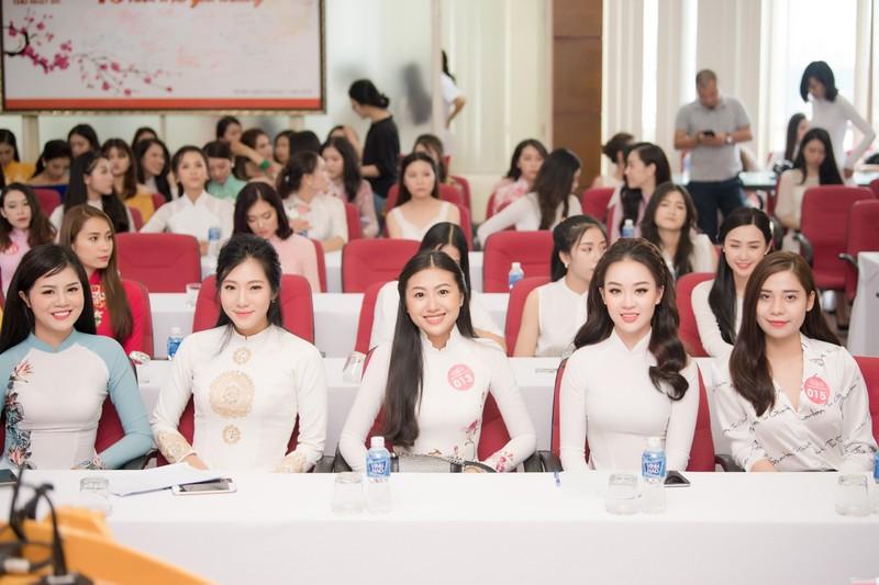 Ngắm dàn người đẹp nổi bật cuộc thi Hoa hậu VN 2018 phía Bắc - ảnh 17