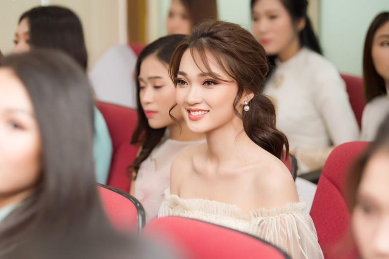 Ngắm dàn người đẹp nổi bật cuộc thi Hoa hậu VN 2018 phía Bắc - ảnh 7