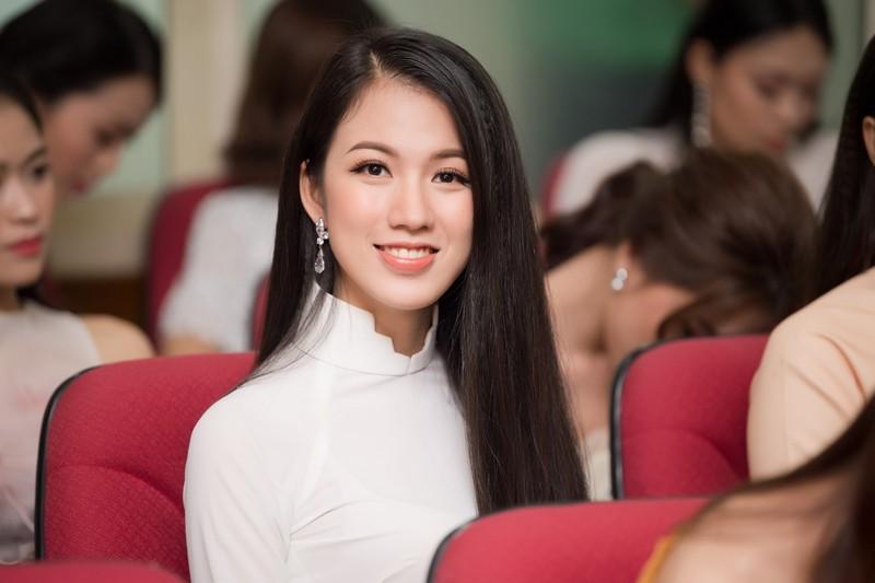 Ngắm dàn người đẹp nổi bật cuộc thi Hoa hậu VN 2018 phía Bắc - ảnh 6