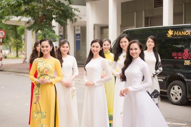 Ngắm dàn người đẹp nổi bật cuộc thi Hoa hậu VN 2018 phía Bắc - ảnh 19