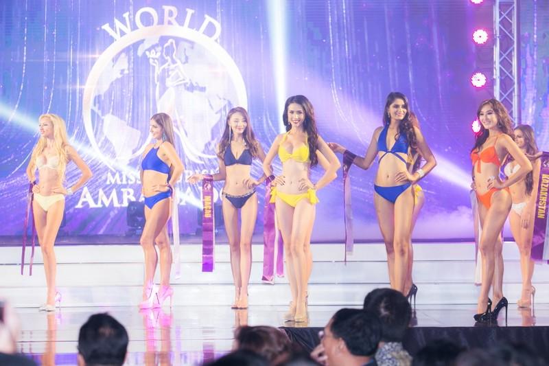 Phan Thị Mơ đăng quang Hoa hậu Đại sứ du lịch Thế giới 2018 - ảnh 11