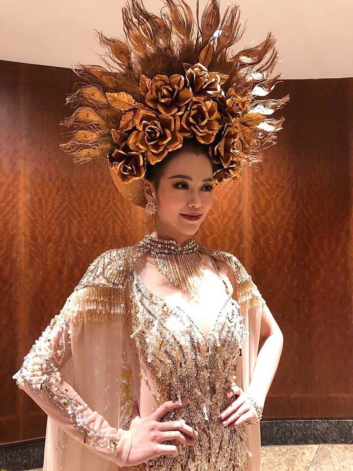 Cận cảnh bộ trang phục truyền thống thắng giải tại Miss Earth - ảnh 2
