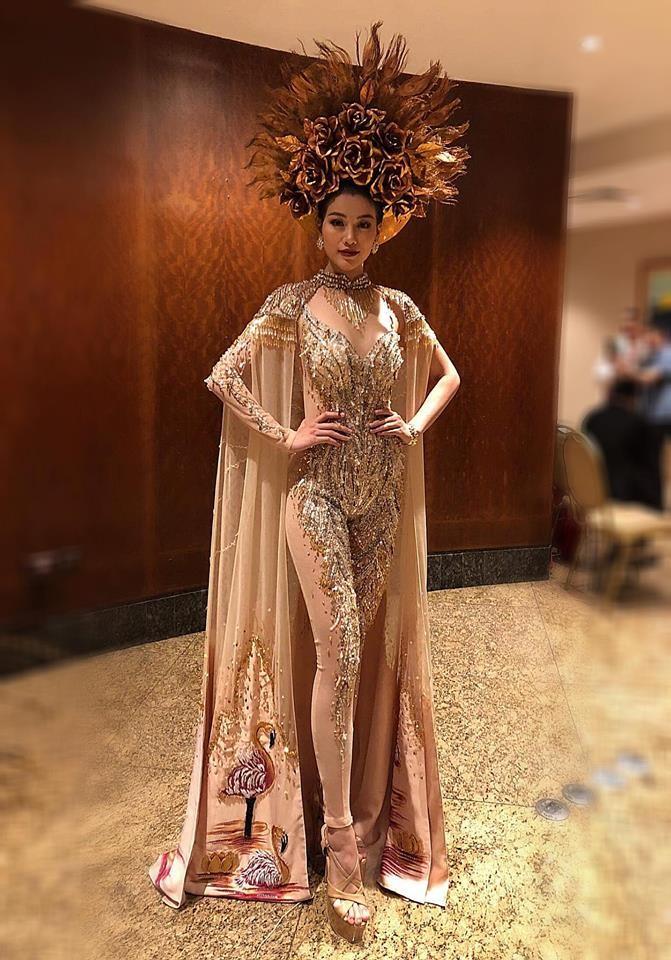 Cận cảnh bộ trang phục truyền thống thắng giải tại Miss Earth - ảnh 3