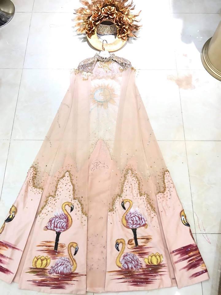 Cận cảnh bộ trang phục truyền thống thắng giải tại Miss Earth - ảnh 4