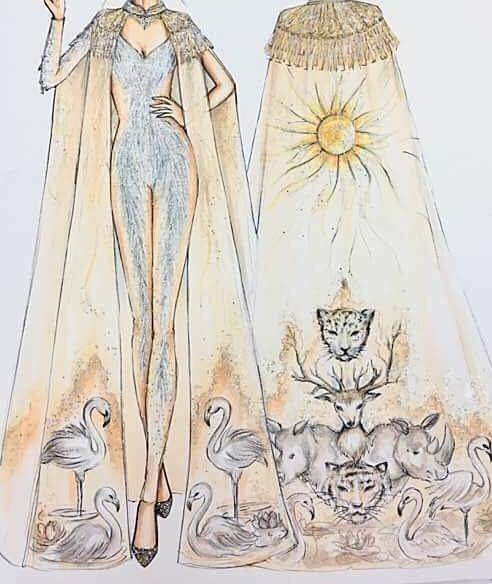 Cận cảnh bộ trang phục truyền thống thắng giải tại Miss Earth - ảnh 5
