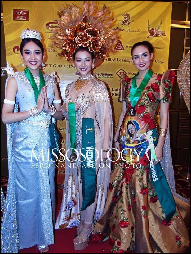 Cận cảnh bộ trang phục truyền thống thắng giải tại Miss Earth - ảnh 1