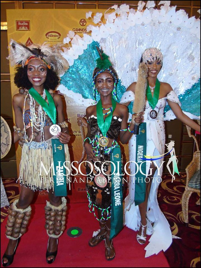 Cận cảnh bộ trang phục truyền thống thắng giải tại Miss Earth - ảnh 6