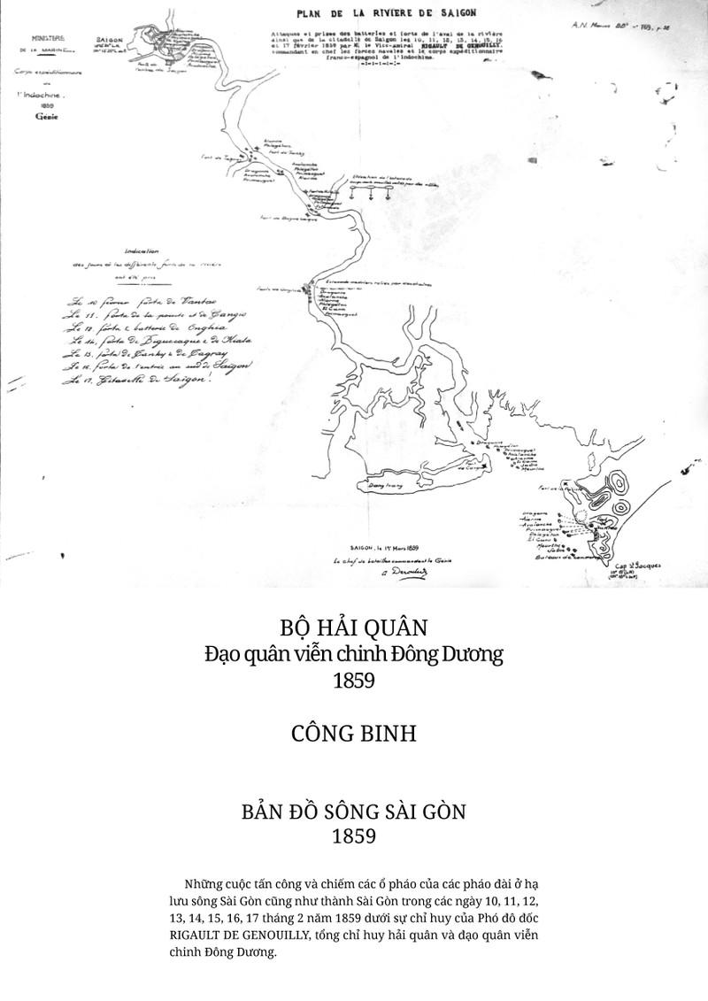 Công bố 5 bản đồ Pháp tấn công Sài Gòn chưa từng được tiết lộ - ảnh 2